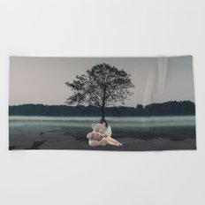Not Alone Beach Towel