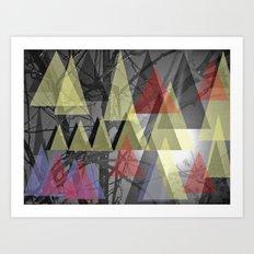 El astro implacable Art Print
