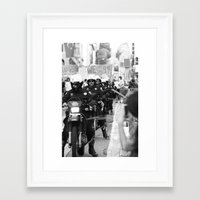 police Framed Art Prints featuring Police by Brandon Elliott Buell