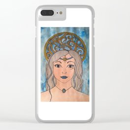 Keeper of the night sky Clear iPhone Case