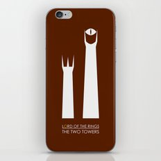 The Lord of the Rings: Two Towers Minimalist iPhone & iPod Skin