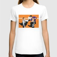 johnlock T-shirts featuring Sherlock vs. Holmes by Krusca