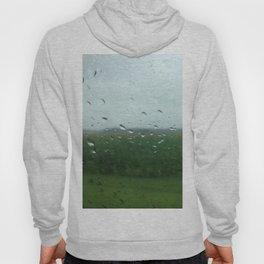 rural vermont summer rain Hoody