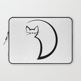 Minimal Cat Laptop Sleeve