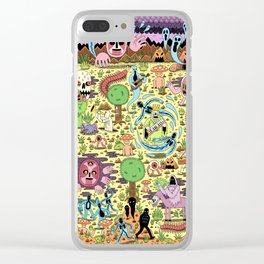Ghost World Clear iPhone Case