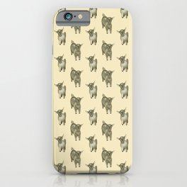 Two little goats iPhone Case