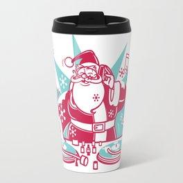 Funky Santa Travel Mug