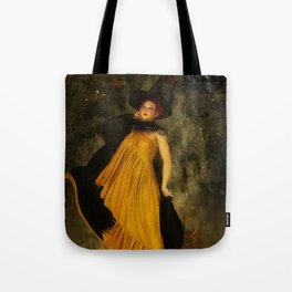 Fire Witch Tote Bag