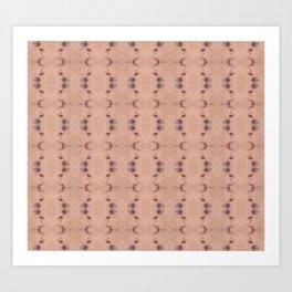 Muted Shibori Art Print