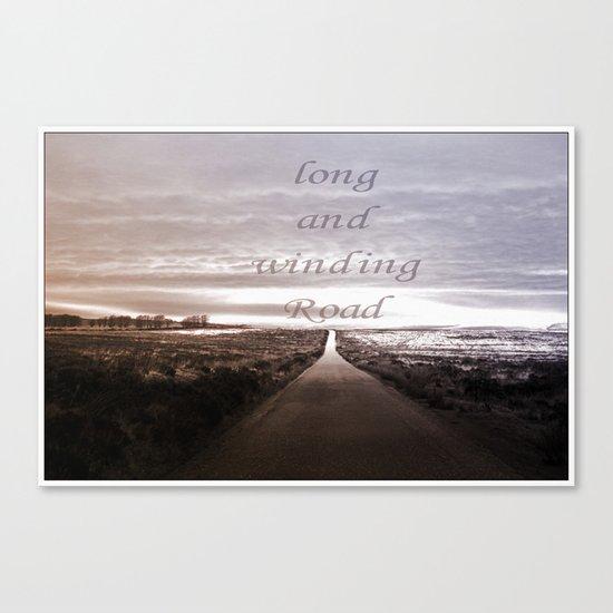 Winding Road Canvas Print