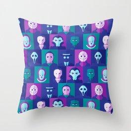 Classic Spooks Throw Pillow