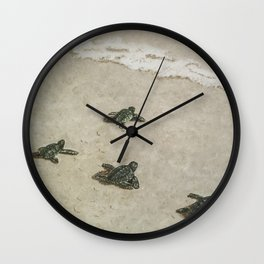 The Journey Begins by Teresa Thompson Wall Clock