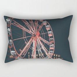 Red wheel Rectangular Pillow
