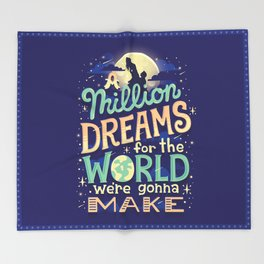 A Million Dreams Throw Blanket