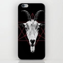 Satanic Goat | Occult Art iPhone Skin