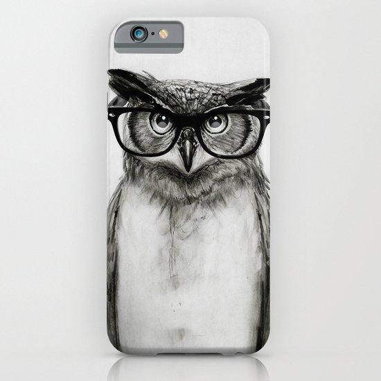 Mr. Owl iPhone & iPod Case