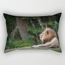 Aslan - Lion Dreaming of Heaven Rectangular Pillow