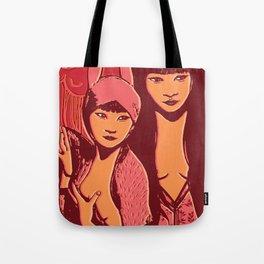 Lin + Mei Tote Bag