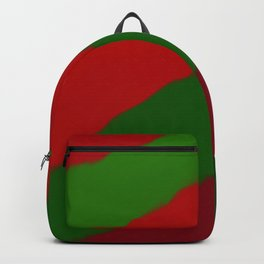 Red and Green Christmas Gift Backpack