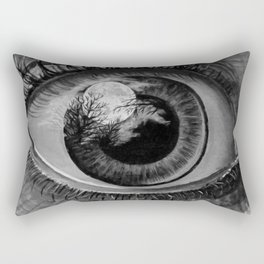 Moon Eyed Rectangular Pillow