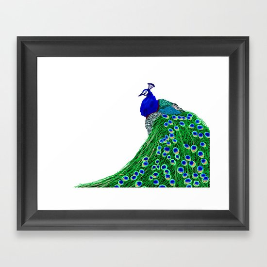 Dressed up Framed Art Print