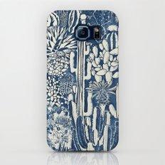 Indigo cacti Slim Case Galaxy S7