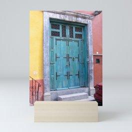 San Miguel de Allende Doorway Mini Art Print