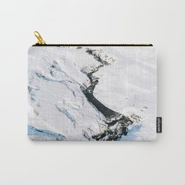 River in winter in Iceland - Landscape Photography Carry-All Pouch