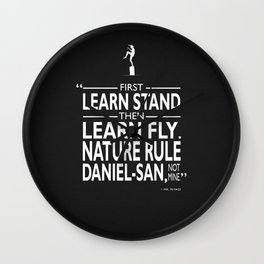 First Learn Stand Wall Clock