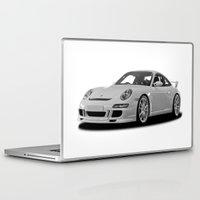 porsche Laptop & iPad Skins featuring Porsche Car by cjsphotos