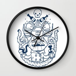 Captain Badass Wall Clock
