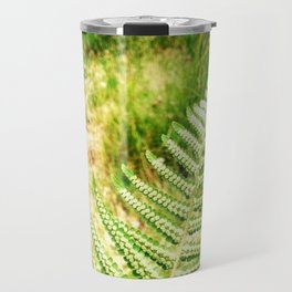 Green Fern Travel Mug