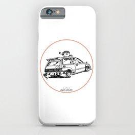 Crazy Car Art 0036 iPhone Case
