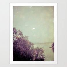 Moonlight Express Art Print