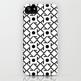Antic pattern 8- from LBK iPhone Case