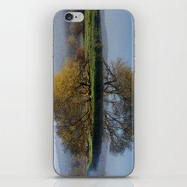 Tree Reflection Landscape iPhone Skin