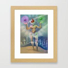 Libra - Zodiac King Framed Art Print