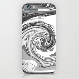 BLACK&WHITE MIX iPhone Case