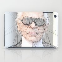karl iPad Cases featuring ICONS: Karl Lagerfeld by LeeandPeoples