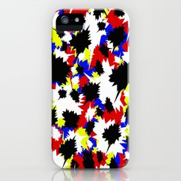 COMIC BOOK PATTERN iPhone Case