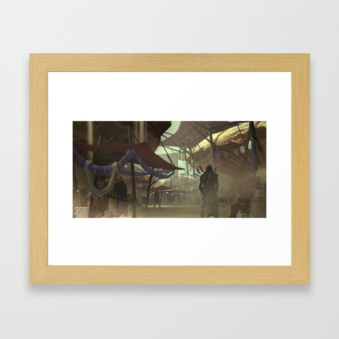 The Great Bazaar Framed Art Print