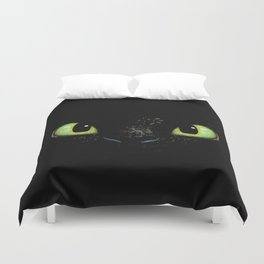 HTTYD Toothless Fiery Eyes Duvet Cover