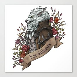 Old Wolf Canvas Print