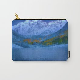 Maroon Bells Early Morning Abstract Carry-All Pouch