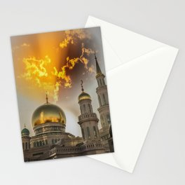 Moscow Cathedral Mosque Stationery Cards
