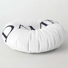 Damn Kandrick Lamar Floor Pillow