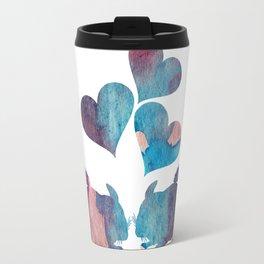 Chinchilla Love Art Travel Mug