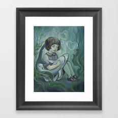 Underwater Dreaming Framed Art Print