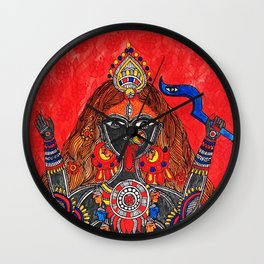 Kaali-The Fierce Form Wall Clock