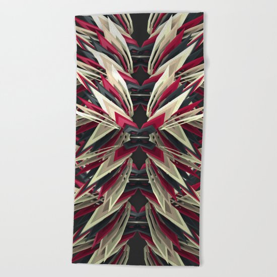 Indian Red Beach Towel